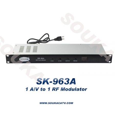 Single Channel Modulator for hotel cable system