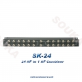 24Ports High Isolation Passive Combiner for Mixing RF Signal