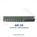 16Ports High Isolation Passive Combiner for Mixing RF Signal