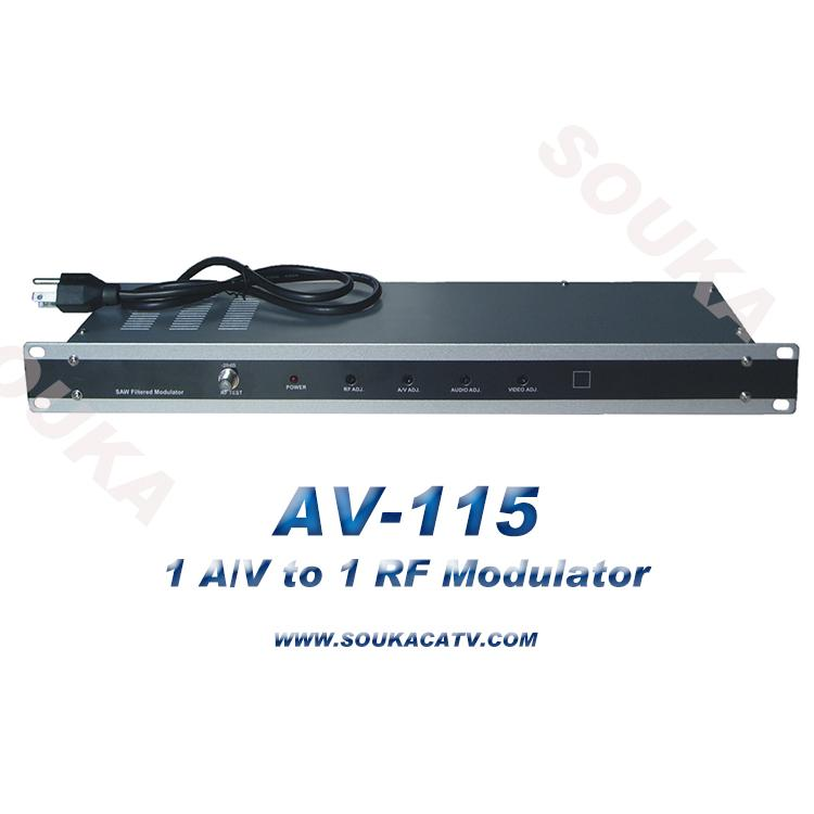 High quality Single Channel Modulator with SAW filter,Single