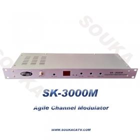 A/V to RF Modulator,SAW Filter Modulator,16 In 1 Analog