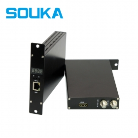 HDMI Encoder to DVB-C Modulator